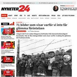 71 bilder som visar varför vi inte får glömma förintelsen