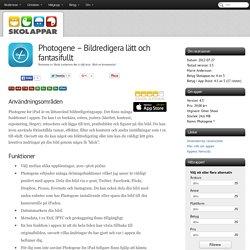 Recension av Photogene - Bildredigera lätt och fantasifullt