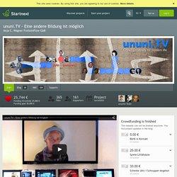 Deutschlands grösste Crowdfunding Seite...Startnext.com - Eine andere Bildung ist möglich - startnext.com
