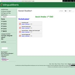 bilingualiliberis - Social Studies1