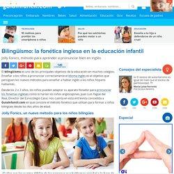 Bilingüismo: la fonética inglesa en la educación infantil