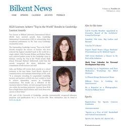 Bilkent News