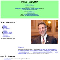 Bill Hersh Home Page
