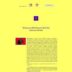 Bill Thayer's Web Site