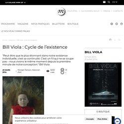 Bill Viola : Cycle de l'existence
