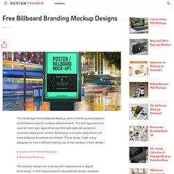 29+ Free Billboard Branding Mockup Designs