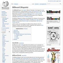 Billboard (Magazin)