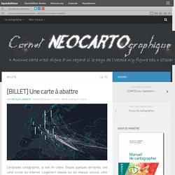 Carnet (neo)cartographique