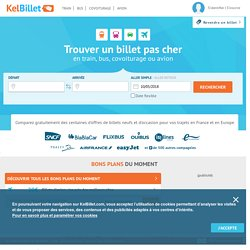 Billet de train pas cher - troc billets de train - Bons plans