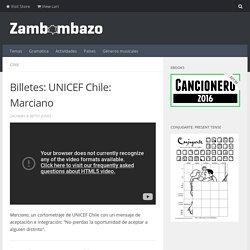 Billetes: UNICEF Chile: Marciano