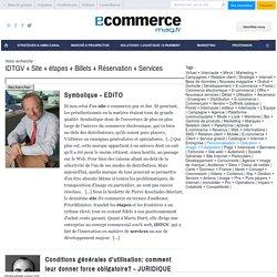 IDTGV + Site + étapes + Billets + Réservation + Services