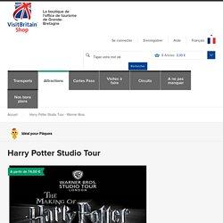 Billets pour le Warner Bross Studio Tour - Harry Potter
