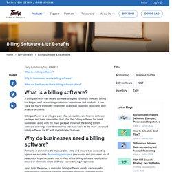 Computer Billing Software