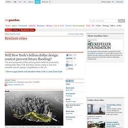 Will New York's billion dollar design contest prevent future flooding?