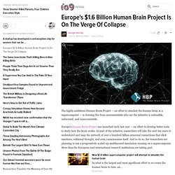 Europe's $1.6 Billion Human Brain Project Is On The Verge Of Collapse