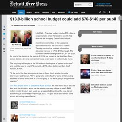 $13.9-billion school budget could add $70-$140 per pupil