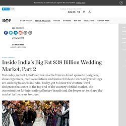 Inside India's Big Fat $38 Billion Wedding Market, Part 2