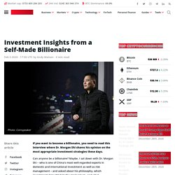 Investment Insights from a Self-Made Billionaire