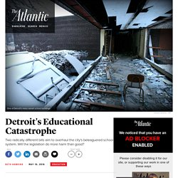 The Bills That Want to Solve Detroit's School Crisis