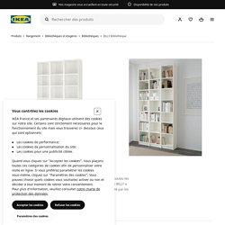 BILLY Bibliothèque, blanc, 120x28x237 cm