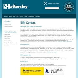 BIM Components - Hattersley