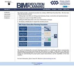 BIM Execution Planning