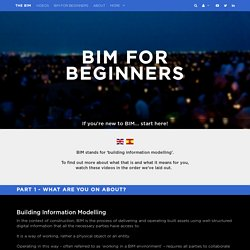 BIM For Beginners by The B1M