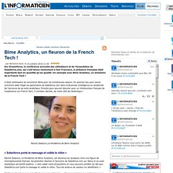 Bime Analytics, un fleuron de la French Tech !