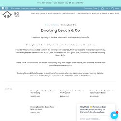 Shop Binalong Beach & Co At Boatshed7