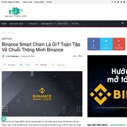 Binance Smart Chain Là Gì? Toàn Tập Về Chuỗi Thông Minh BSC