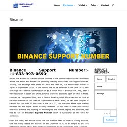Binance Support Number +1【(877) 330-7540】Phone Number