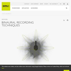 Binaural Recording Techniques - The Complete Guide