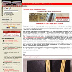 The Book Arts Web