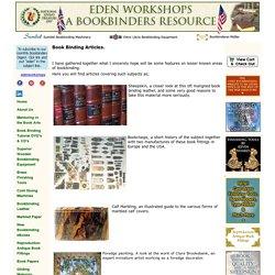 Book Binding Articles - Rare & Insightful Topics