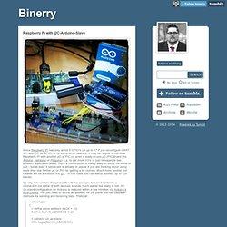 Raspberry Pi with I2C-Arduino-Slave