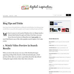 RSS Feeds from Bing Search