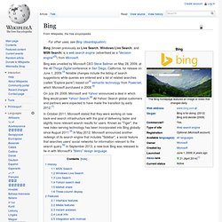 Bing (Wikipedia)