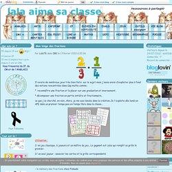 Mon bingo des fractions