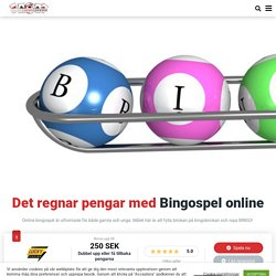 Bingospel Online Sverige