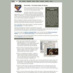 Bink Video!