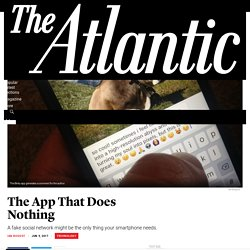 Binky: The App That Does Nothing - The Atlantic