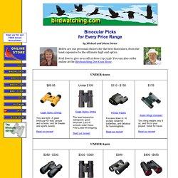 Binocular Picks for Every Price Range - by Michael and Diane Porter