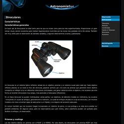 Binoculares - Características .:. Astronomía Sur