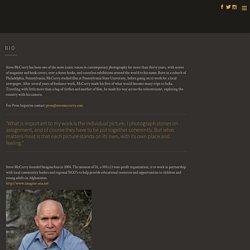 Biografía Steve McCurry