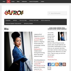 Mina Salami- feminist blogger