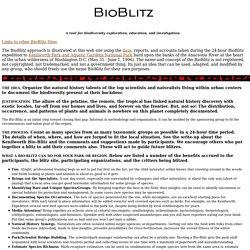 bio-blitz home page