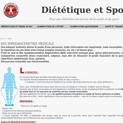 Bio impédancemétrie médicale