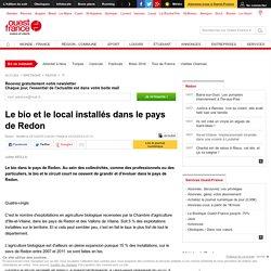 OUEST FRANCE 25/12/15 Le bio et le local installés dans le pays de Redon