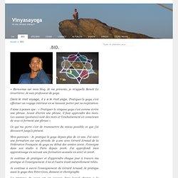 .BIO. « Vinyasayoga