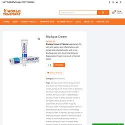 BioAqua Cream in Pakistan